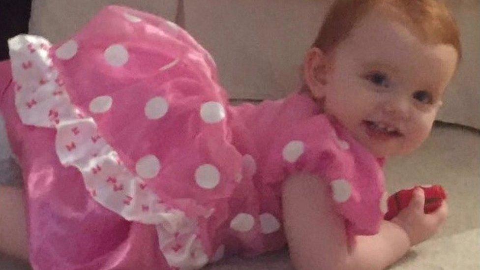 Erin Tomkins murder: Stepdad 'punched toddler'