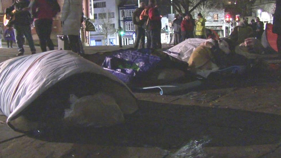 torquay homeless