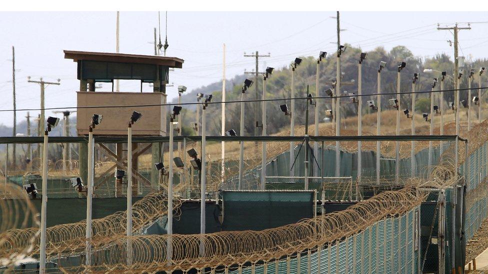 Centro de detención de Guantánamo en 2013.