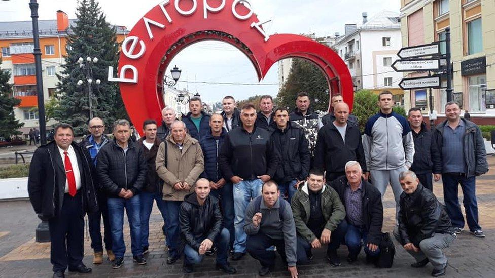 put u Belgorod, fotografija organizacije IKS