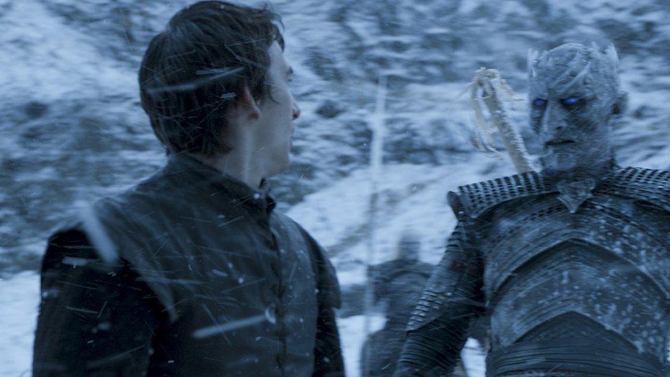 Bran y el Rey de la Noche