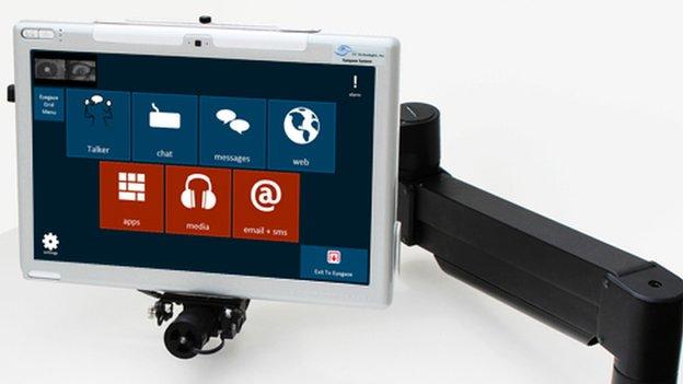Eyegaze Edge tablet version with camera