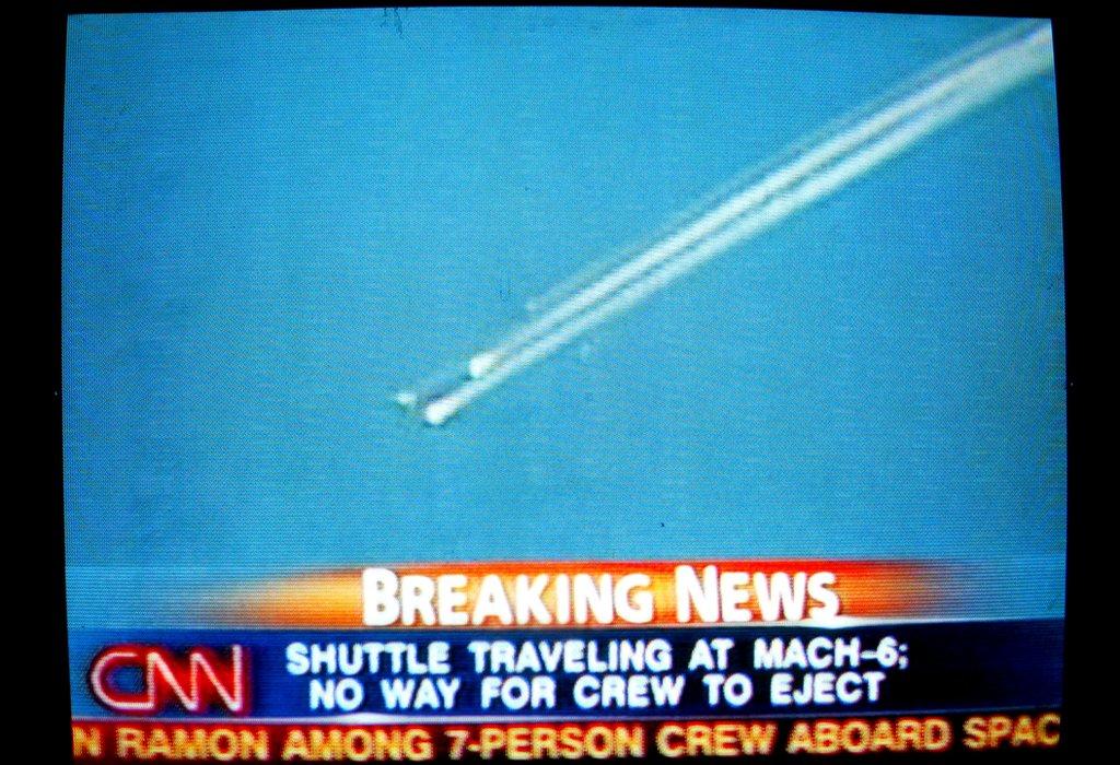 Imagen televisiva del accidente