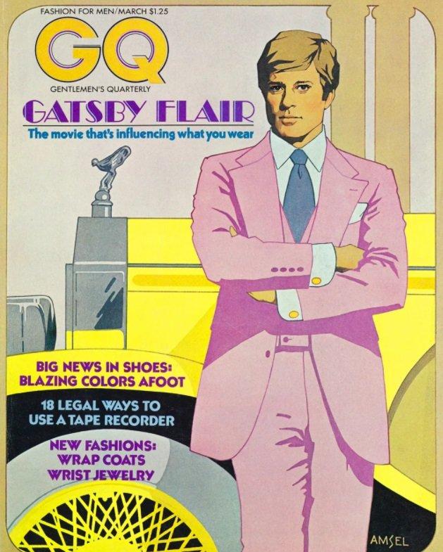 """Roman je postao fenomen u popularnoj kulturi, uz pomoć Holivuda; izraz """"getsbijevski"""" nastao je nekoliko godina posle filma iz 1974. godine sa Robertom Redfordom u glavnoj ulozi"""