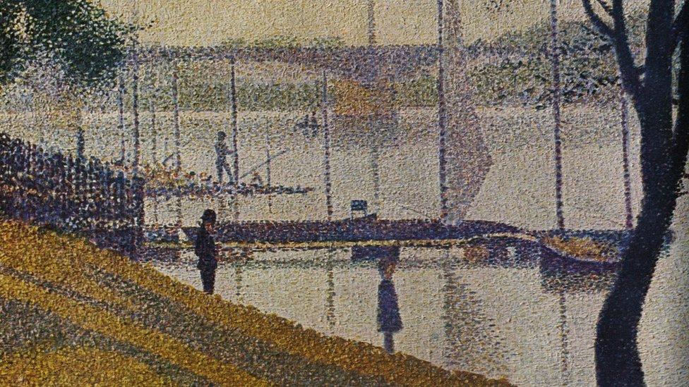 """""""El puente de Courbevoie"""", la obra maestra de Seurat."""