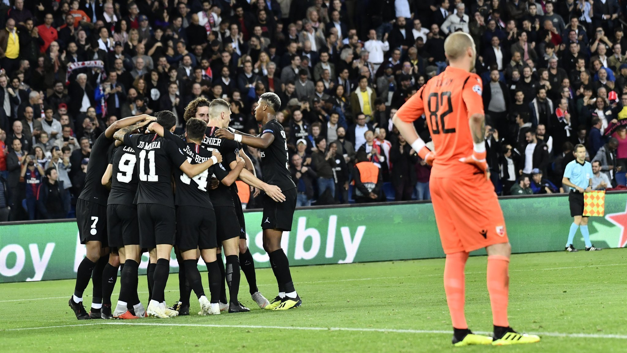 PSG-Red Star crowd trouble investigated by Uefa