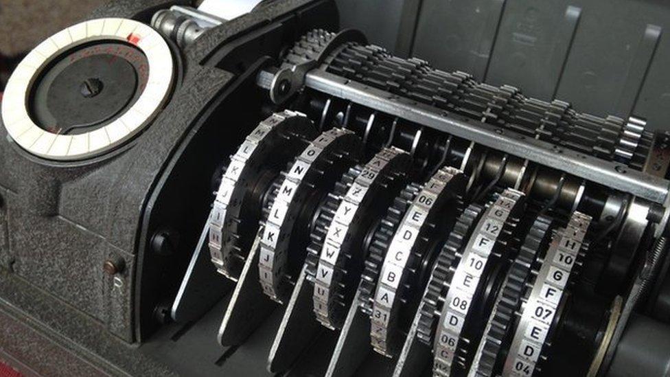 Máquina de encriptación de Crypto AG.