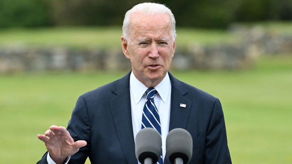 Joe Biden en Reino Unido para la cumbre del G-7