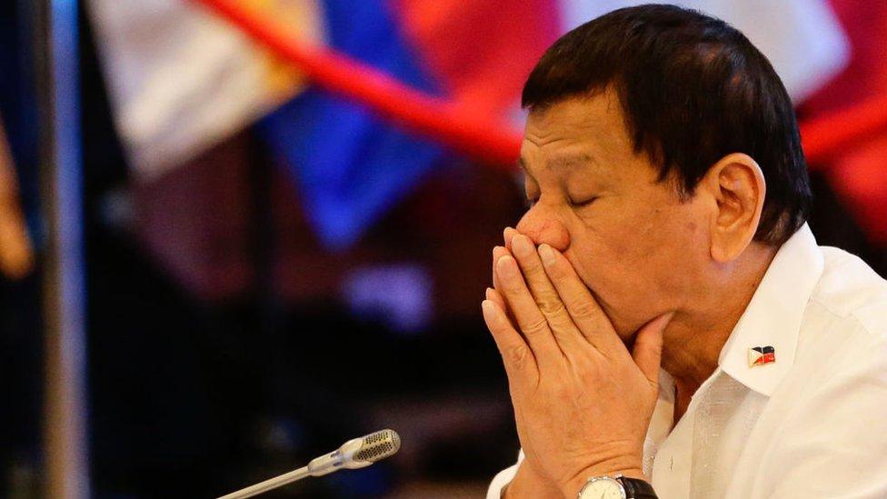 Duterte na samitu 2017. godine