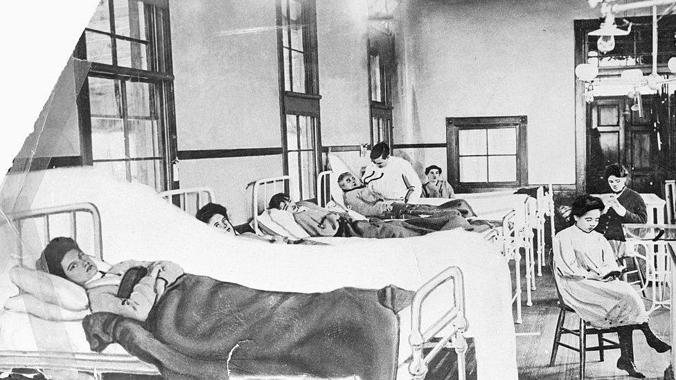 Pacientes de la época