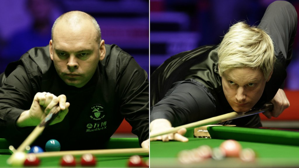 Bingham to face Robertson in Welsh Open final