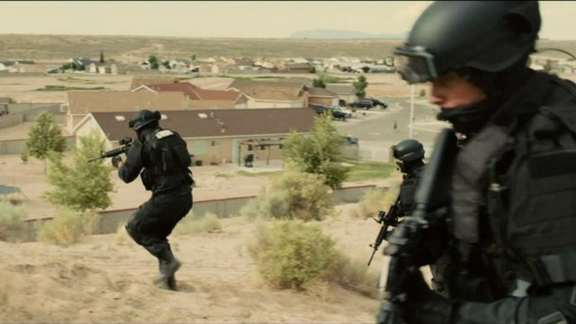 A scene from Sicario
