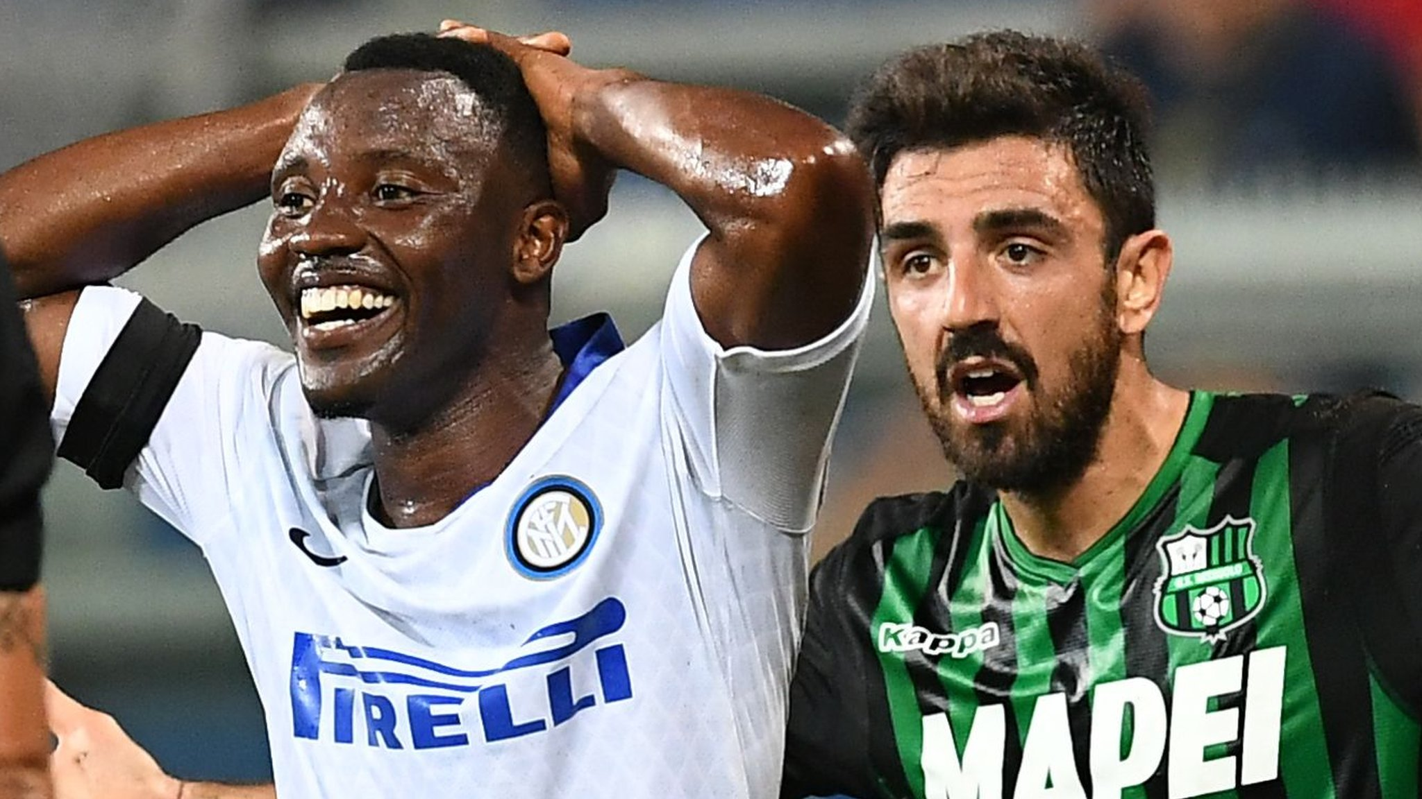 Inter stunned by Sassuolo in Serie A opener