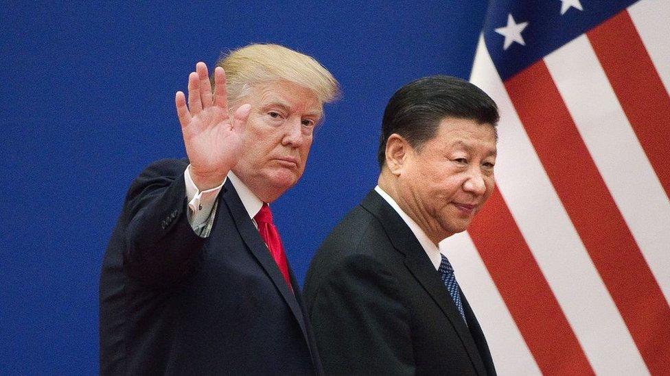 Donald Trmp y Xi Jinping