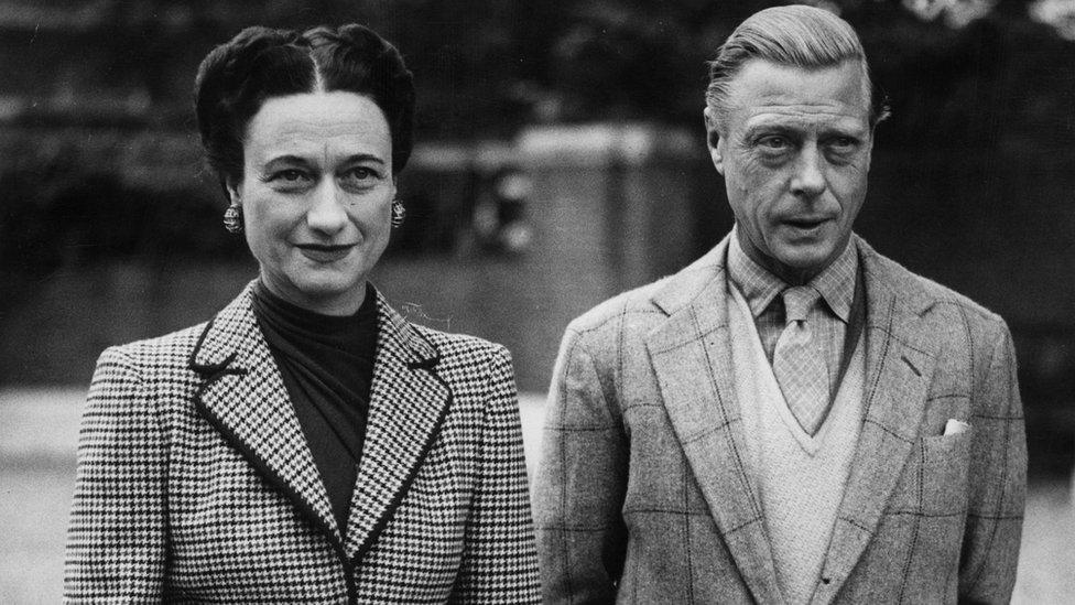 El duque y la duquesa de Windsor en 1946