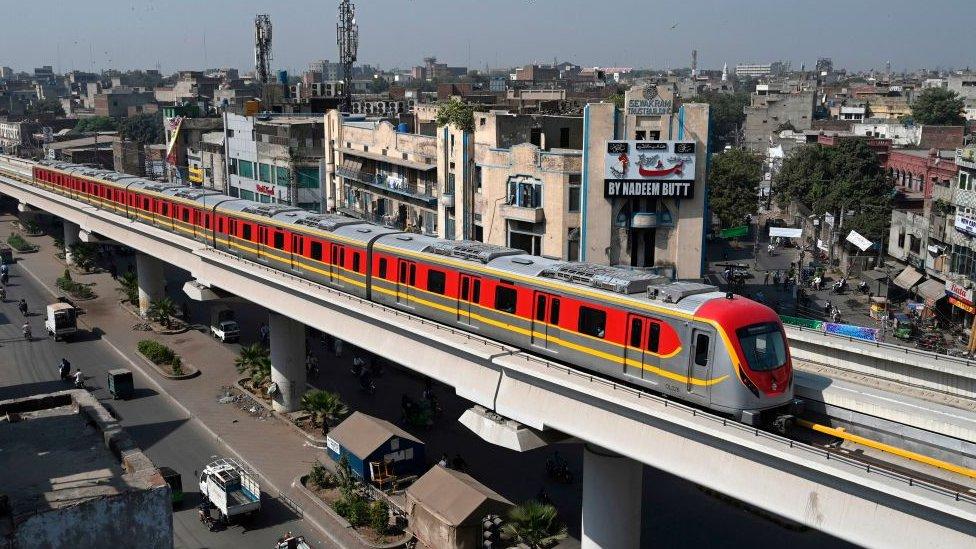 Pakistan Metro Launches In Lahore