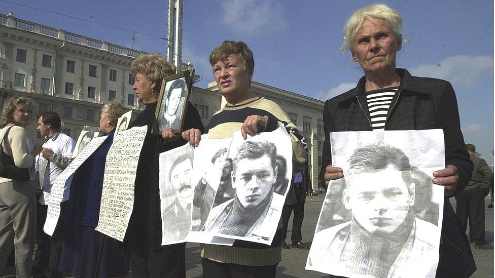 2001年大選前反對派親友舉行的抗議活動