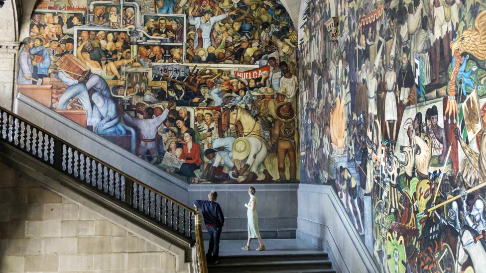 Murales Diego Rivera
