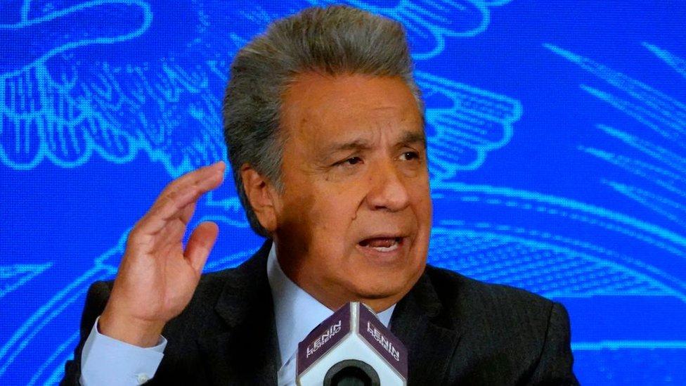 El presidente Lenín Moreno impuso medidas para controlar la inmigración de venezolanos.