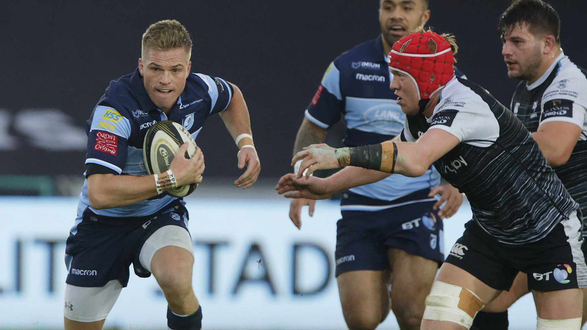 Gareth Anscombe: Blues will select player against future side Ospreys