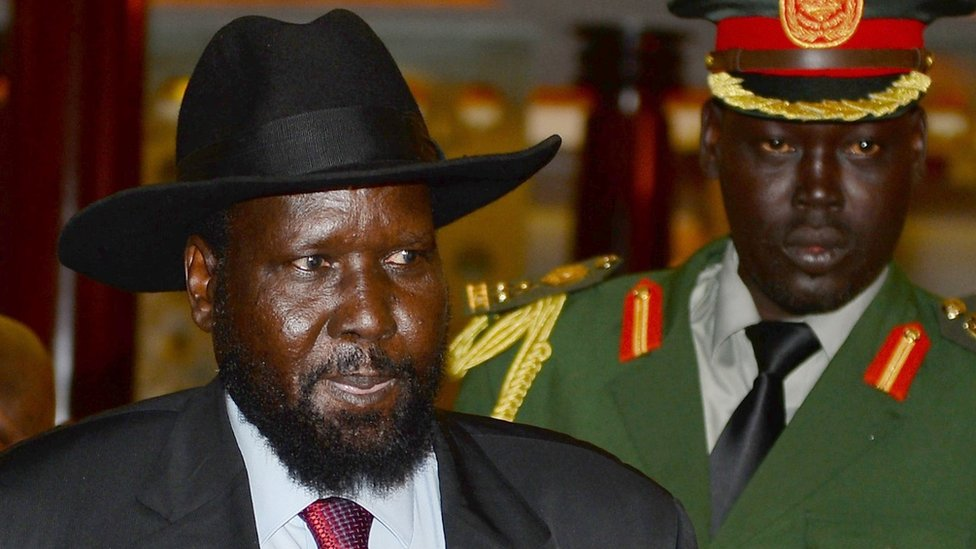 South Sudan's President Salva Kiir Mayardit
