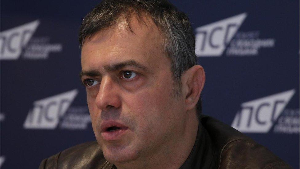 Glumac Sergej Trifunović angažovan je i politički