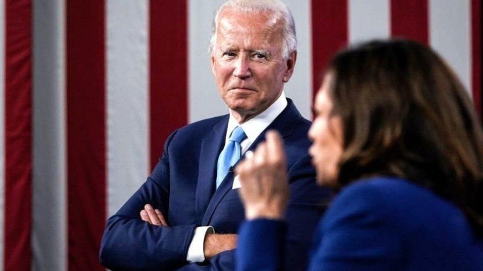 Pilihan Joe Biden terhadap Kamala Harris dinilai sebagai salah satu kunci kemenangannya