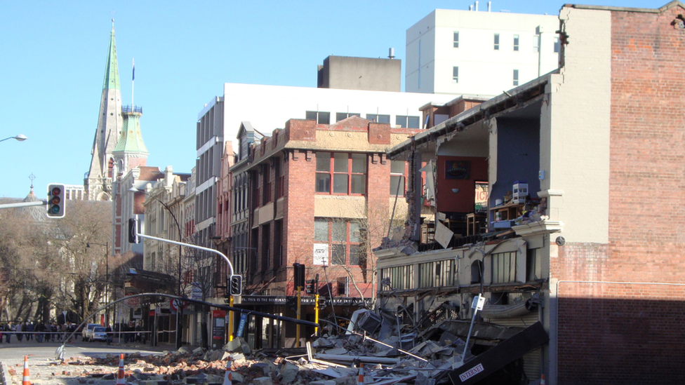 Earthquake damage to Christchurch, New Zealand, 2010