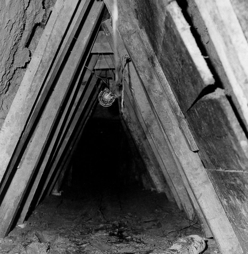 Tramo del túnel.