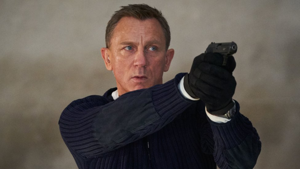 Daniel Craig as James Bond
