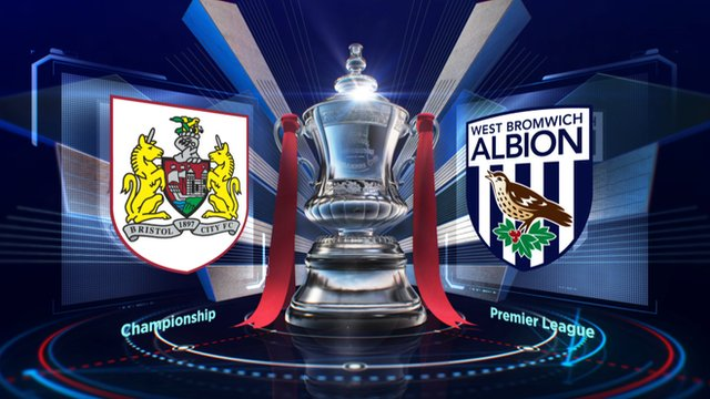 FA Cup: Bristol City 0-1 West Bromwich Albion highlights