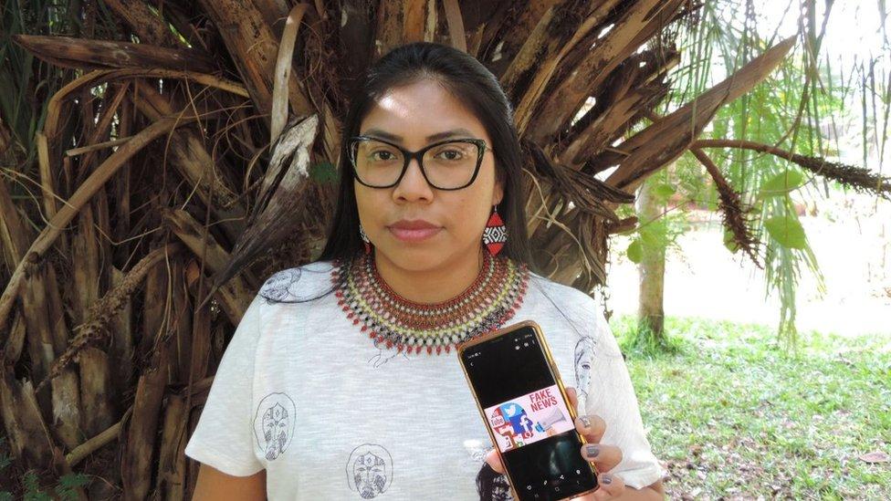 Enfermeira indígena Indianara Machado