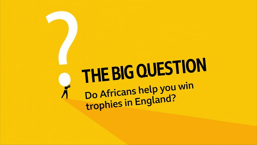 Do African footballers in the English Premier League help clubs win trophies?