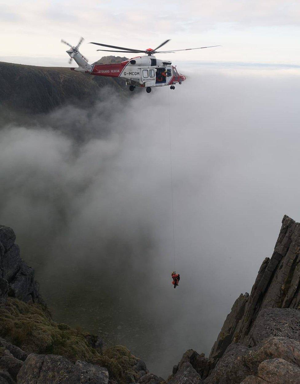 Rescue at Mitre Ridge