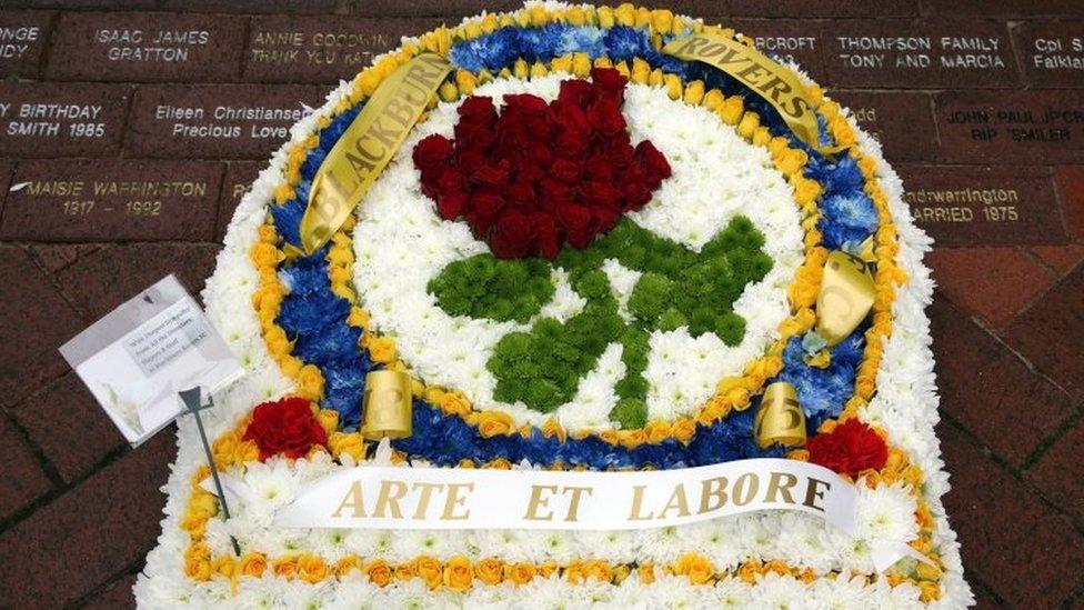 Blackburn Rovers tribute
