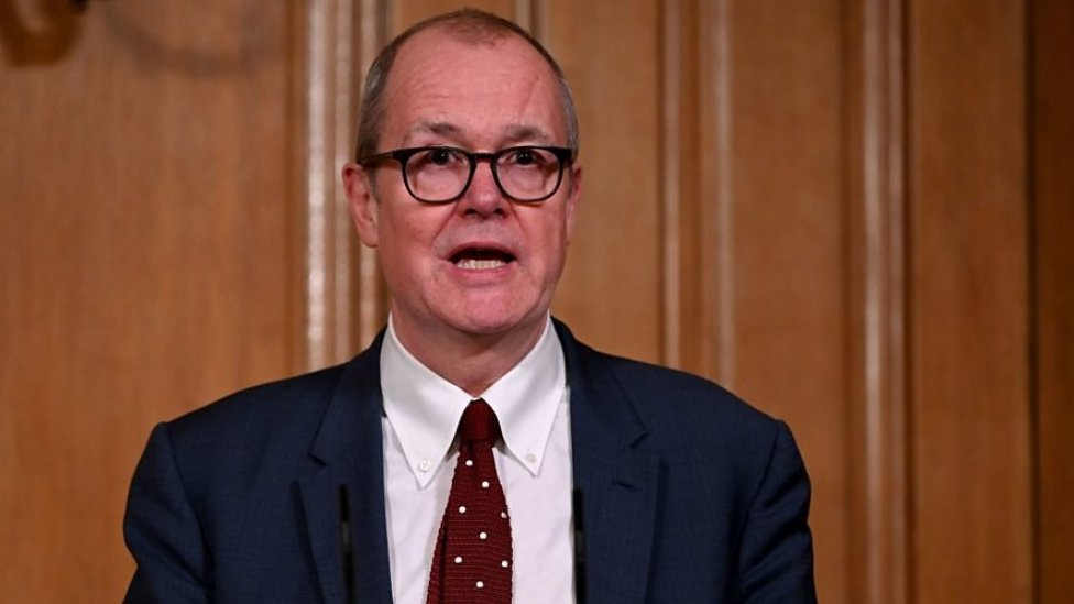 كبير المستشارين العلميين للحكومة، السير باتريك فالانس