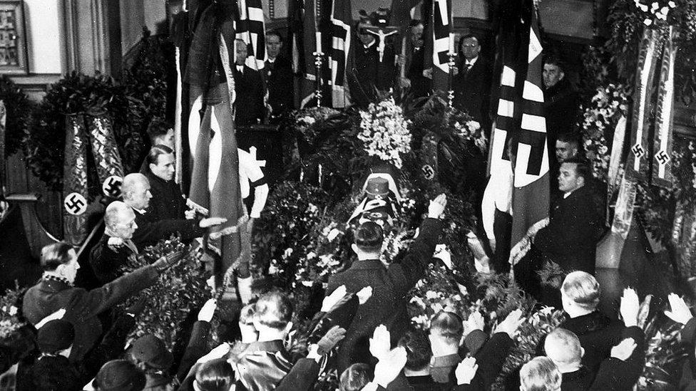 Funeral de Wilhelm Gustloff