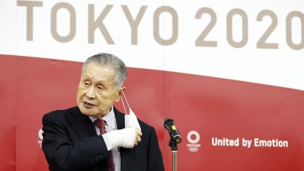 يوشيرو موري، رئيس اللجنة المنظمة لأولمبياد طوكيو