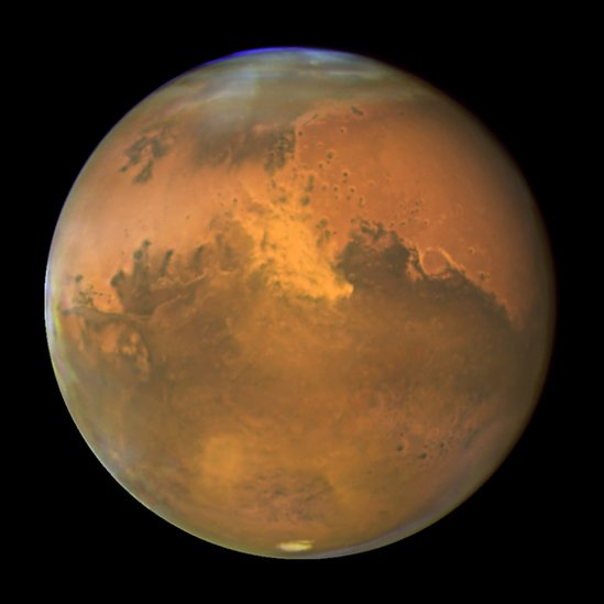 Imagen del planeta Marte