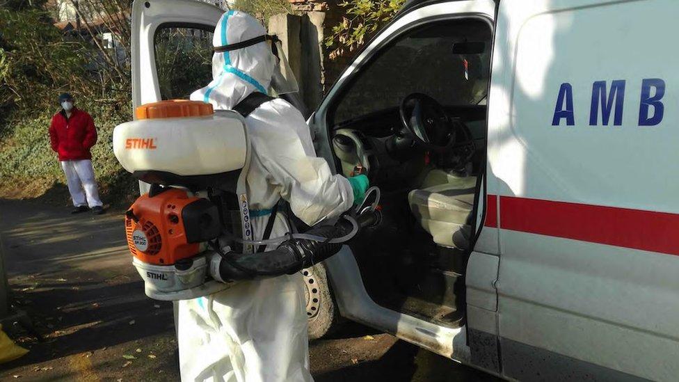 dezinfekcija ambulantnog vozila