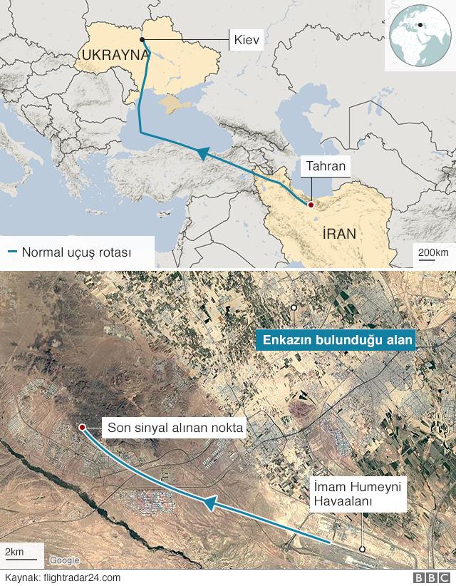 Tahran-Kiev uçak kazası