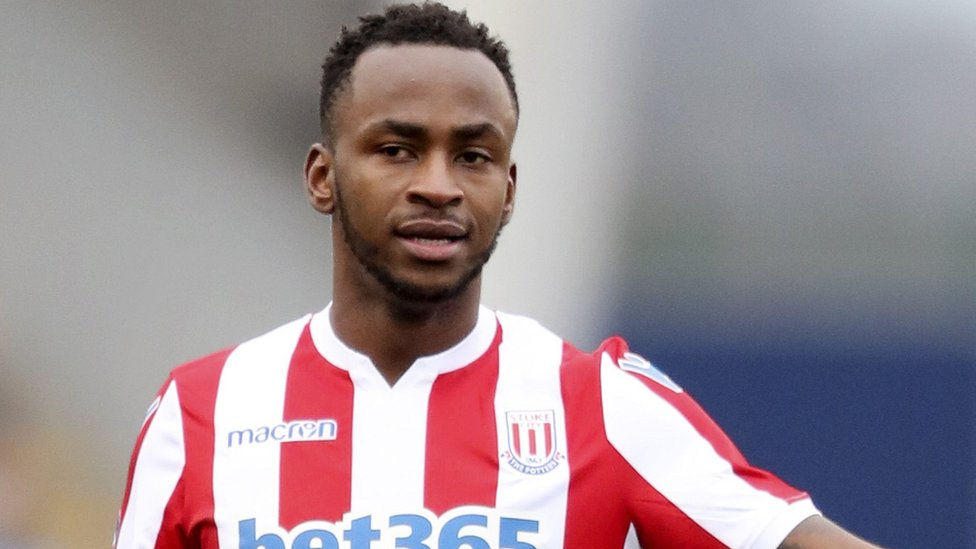 Stoke striker Saido Berahino charged with drink-driving
