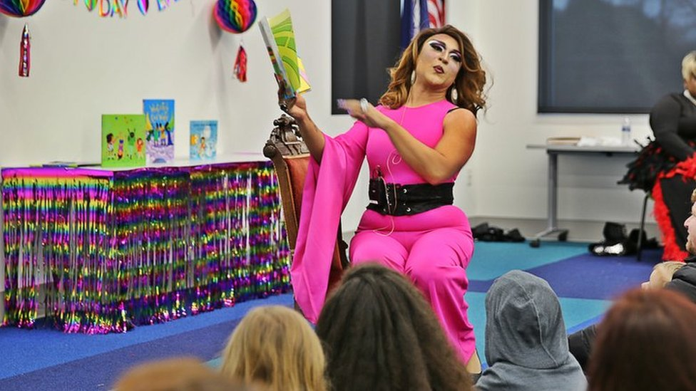 Drag queen story hour in America's Bible Belt
