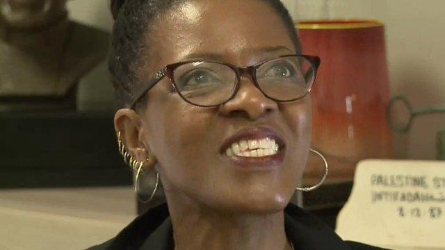 Canon Mpho Tutu, daughter of South Africa's Archbishop Desmond Tutu