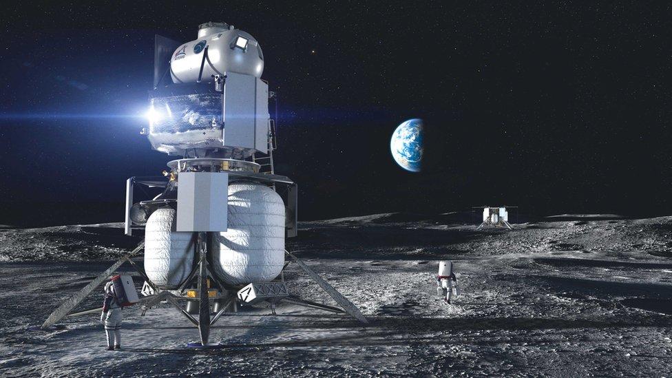 Pendarat Blue Origin
