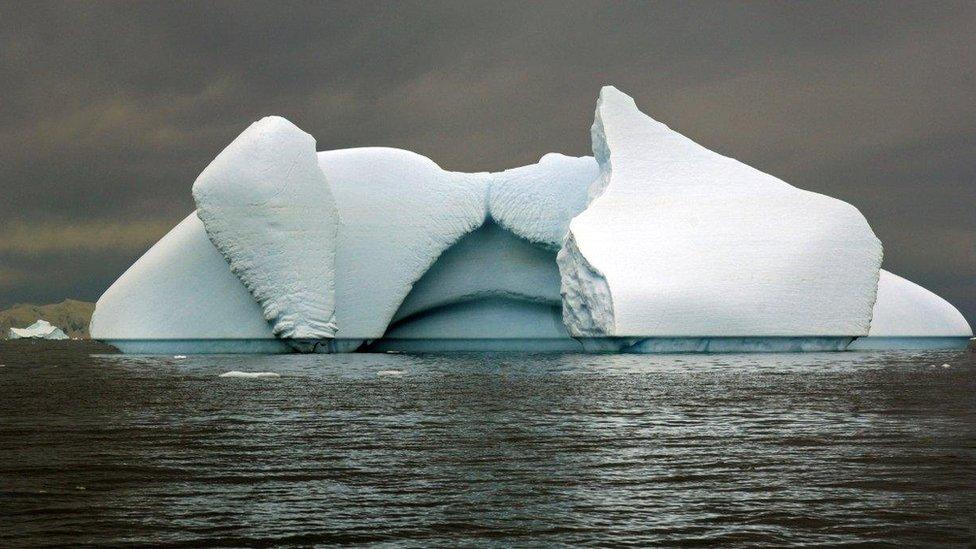 Iceberg, Southern Ocean (Image: BBC)