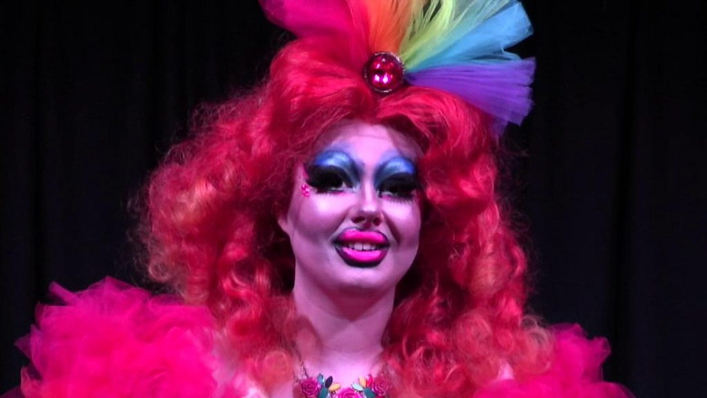 Female drag queen says 'gender is a performance'