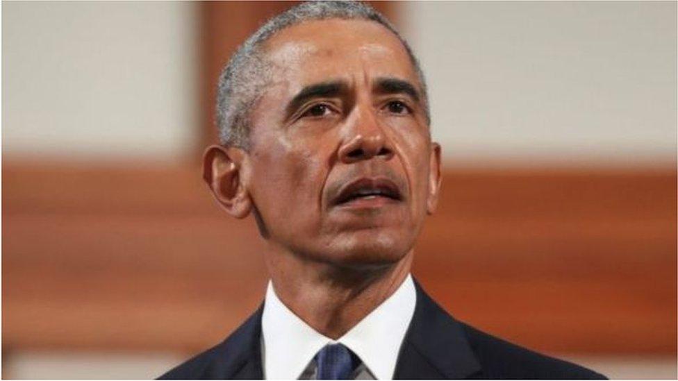 這位美國前總統表示,繼任他的共和黨總統「沒有成長,因為他做不到」。