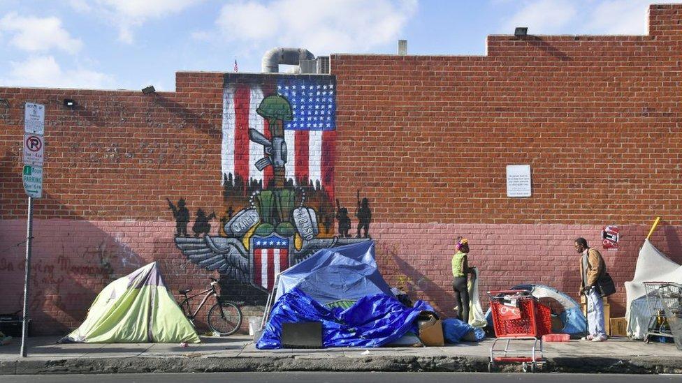 beskunici u Los Anđelesu