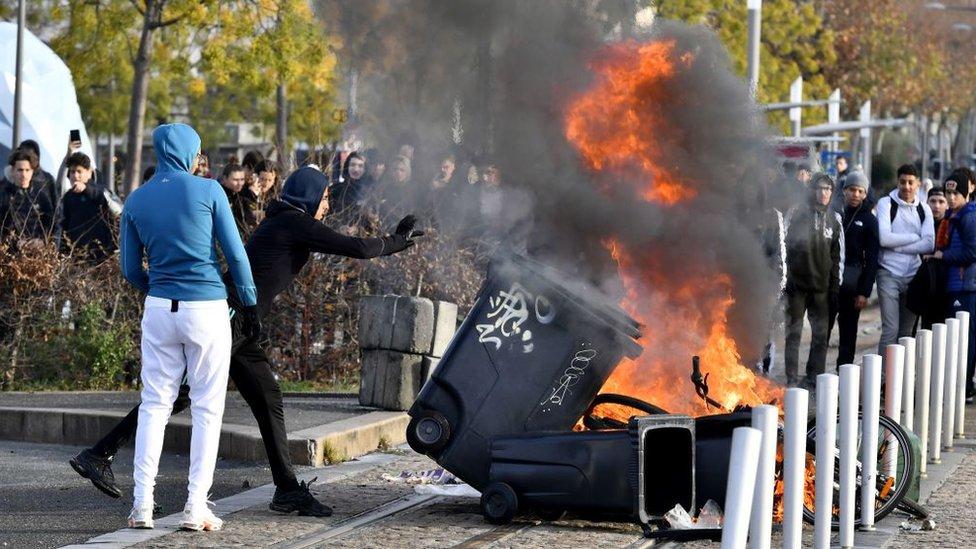 أعمال الشغب في فرنسا